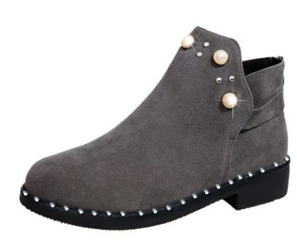 Ladies suede Boots-grey (Copy)