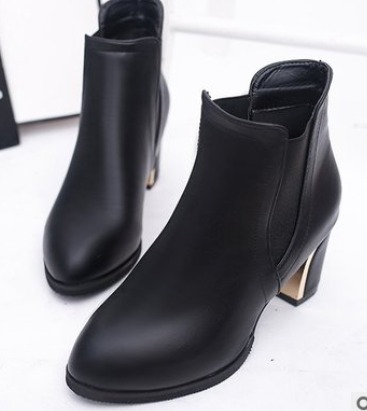 Ladies official Boots-black color