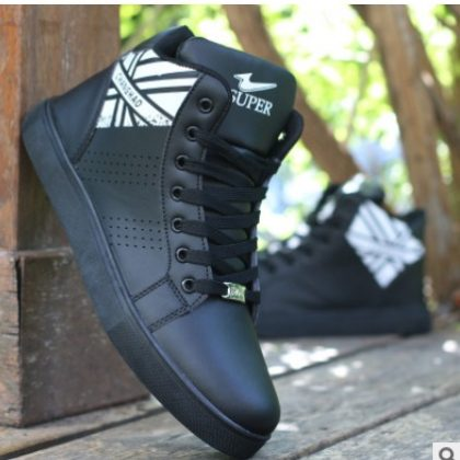 Men Sneaker shoes-(black)